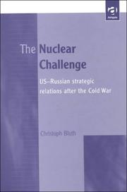 Cover of: The nuclear challenge