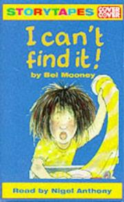 Cover of: I Can't Find It!