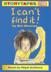 Cover of: I Can't Find It! (Cover to Cover Storytapes)