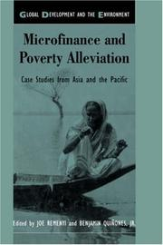 Cover of: Microfinance and Poverty Alleviation | J. Remenyi