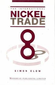 Cover of: The international nickel trade