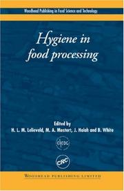 Cover of: Hygiene in food processing |