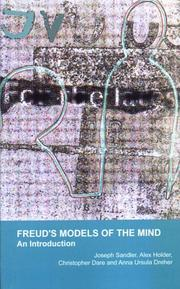 Cover of: Freud's Models of the Mind