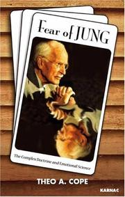 Cover of: Fear of Jung | Theo A. Cope