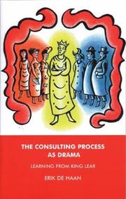 Cover of: The Consulting Process as Drama | Erik De Haan