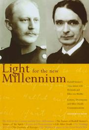 Cover of: Light for the New Millennium: Rudolf Steiner