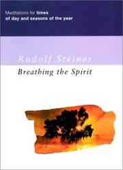 Cover of: Breathing the Spirit | Rudolf Steiner