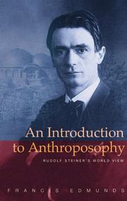 Cover of: An Introduction to Anthroposophy