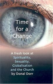 Cover of: Time for a change