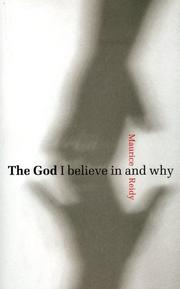 Cover of: The God I Believe in And Why | Maurice Reidy