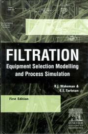 Cover of: Filtration