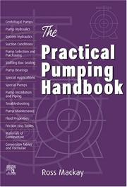 Cover of: The practical pumping handbook | Ross Mackay