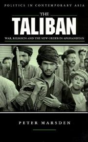 Cover of: The Taliban | Peter Marsden