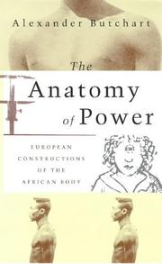 Cover of: The anatomy of power