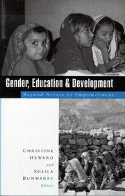 Cover of: Gender, education, and development