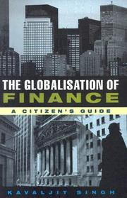 Cover of: The globalisation of finance