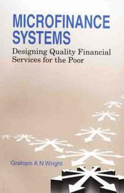 Cover of: Microfinance Systems | Graham Wright
