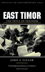 Cover of: East timor