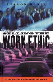 Cover of: Selling the Work Ethic | Sharon Beder