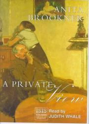 Cover of: A Private View