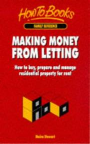 Cover of: Making Money from Letting