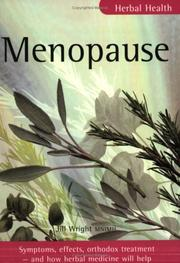Cover of: Menopause (Herbal Health) | Wright, Jill