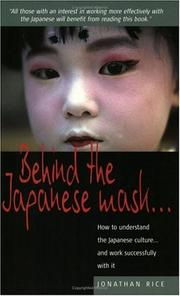 Cover of: Behind the Japanese Mask