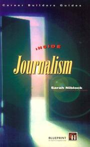 Cover of: Inside Journalism (Career Builders Guides)