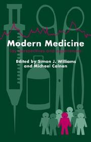 Cover of: Modern Medicine