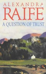 Cover of: Question of Trust