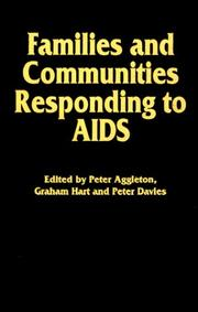 Cover of: Families and communities responding to AIDS