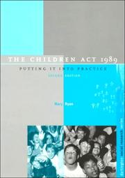 Cover of: The Children Act 1989