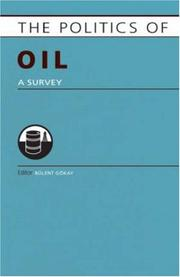 Cover of: Politics of Oil