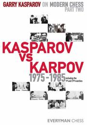 Cover of: Garry Kasparov on Modern Chess, Part 2