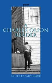 Cover of: A Charles Olson Reader: | Charles Olson