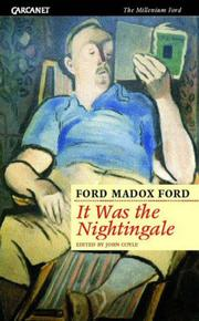 Cover of: It was the nightingale