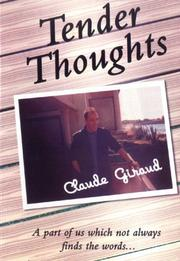 Cover of: Tender Thoughts