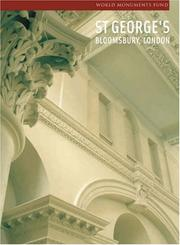 Cover of: St George's, Bloomsbury, London (World Monuments Fund)