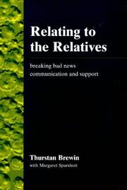 Cover of: Relating to the relatives