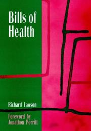 Cover of: Bills of health