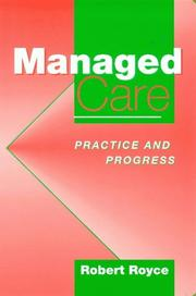 Cover of: Managed care