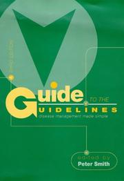 Cover of: Guide to the Guidelines