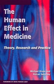 Cover of: Human Effect in Medicine