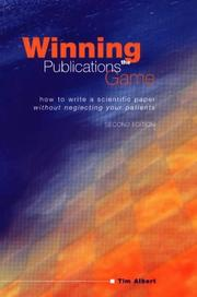 Cover of: Winning the publications game