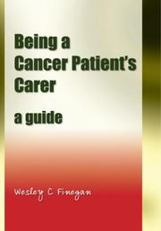 Cover of: Being a Cancer Patient