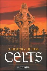 Cover of: History of the Celts | Horace E. Winter