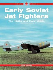 Cover of: Early Soviet Jet Fighters -Red Star Volume 4 (Red Star) | Yefim Gordon