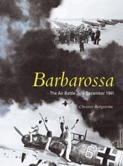 Cover of: Barbarossa | Christer Bergstrom