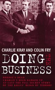 Cover of: Doing the Business | Charlie Kray