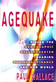 Cover of: Agequake | Paul Wallace